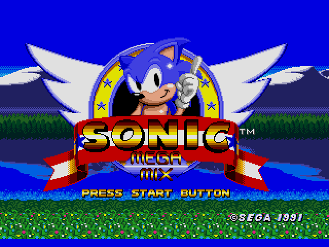 Sonic the hedgehog usa europe hack by team megamix v3 0 sonic